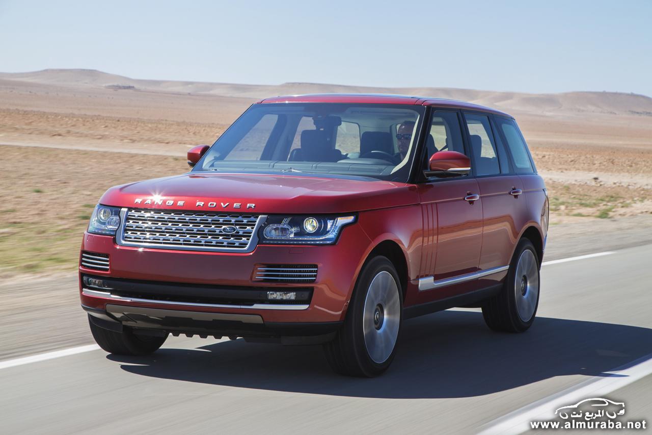 رنج روفر 2015 تحصل على تطويرات جديدة هي ورنج روفر سبورت 2015 Range Rover | المربع نت
