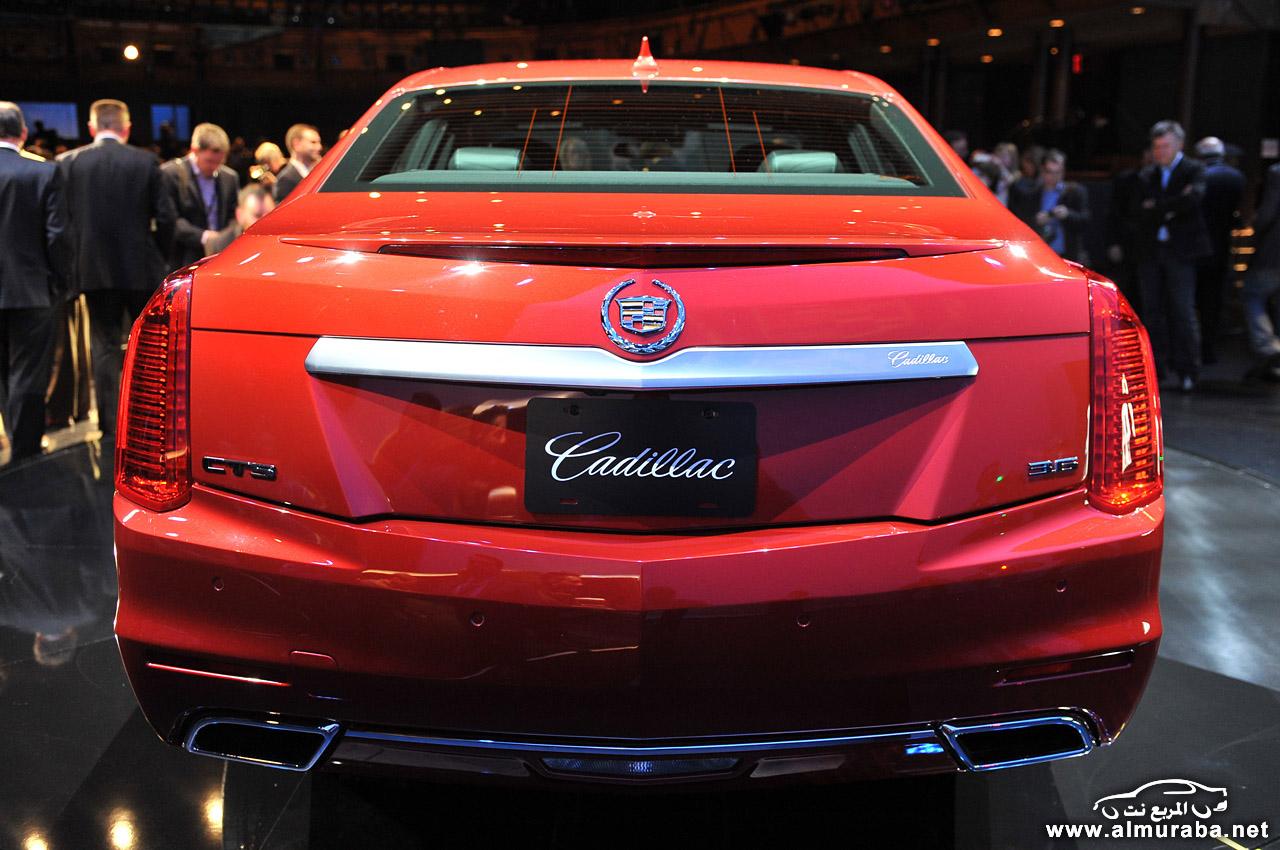 كاديلاك سي تي اس 2014 6 سلندر صور واسعار ومواصفات Cadillac CTS 2014 | المربع نت