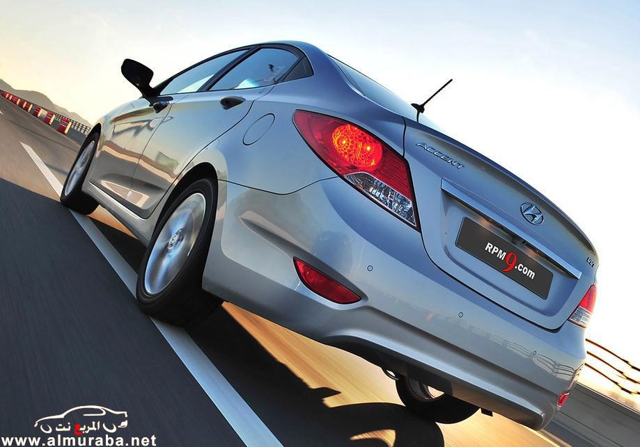 اكسنت 2013 صور واسعار ومعلومات Hyundai Accent 2013