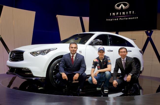 انفينيتي تقرر إنتاج 200 سيارة فقط من نوع «FX نسخة سبستيان فيتل» للشرق الاوسط واوروبا
