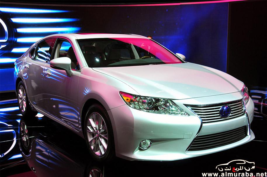 لكزس اي اس 2013 بالشكل الجديد صور واسعار ومواصفات Lexus Es 2013