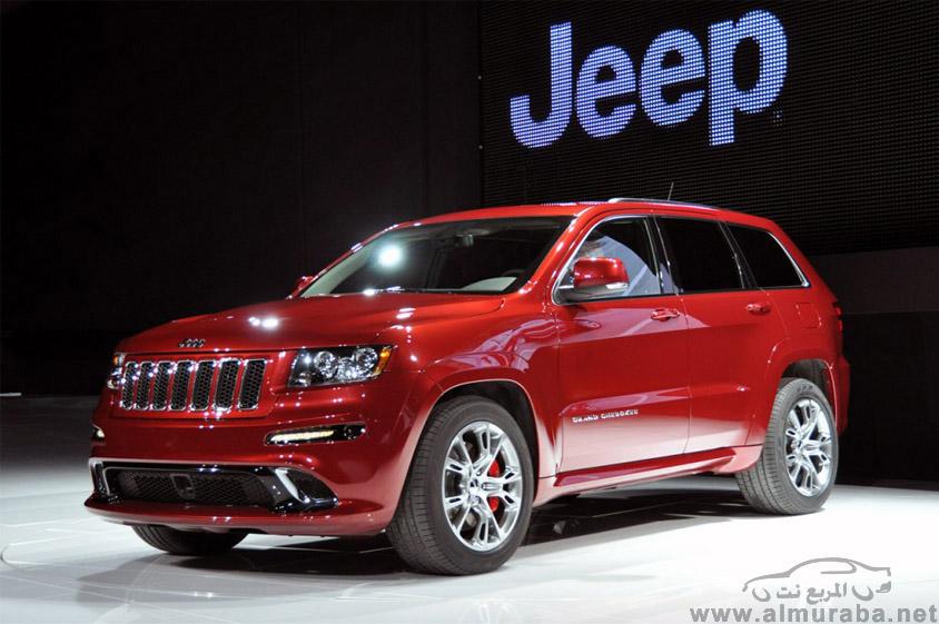 جيب جراند شيروكي 2013 اس ار تي صور واسعار ومواصفات Jeep Grand Cherokee SRT8