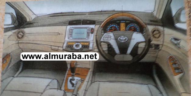 تويوتا كورولا 2013 بشكلها الجديد صور من الداخل والخارج Toyota Corolla 2013