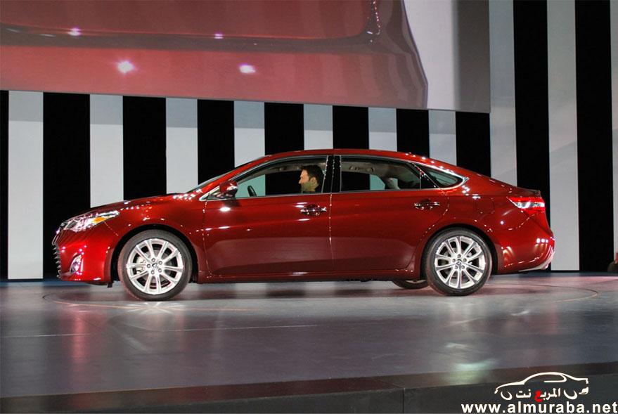 افالون 2013 الجديدة كلياً صور حصرية من المعرض تويوتا Toyota Avalon 2013