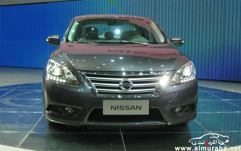 نيسان سنترا 2013 بشكلها الجديد صور واسعار ومواصفات Nissan Sentra 2013