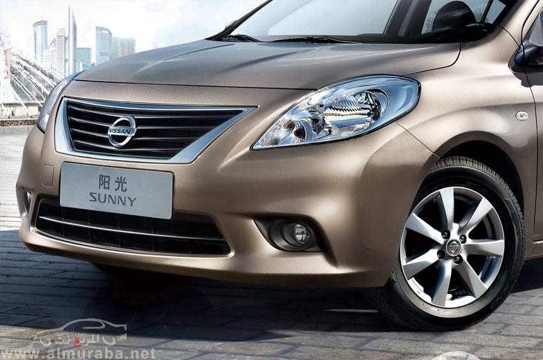 صني 2013 نيسان صور واسعار ومواصفات الجديدة المطورة Nissan Sunny 2013