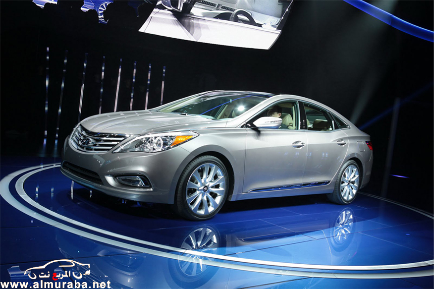 هيونداي ازيرا 2013 بالأضافات الجديدة صور واسعار ومواصفات Hyundai Azera 2013