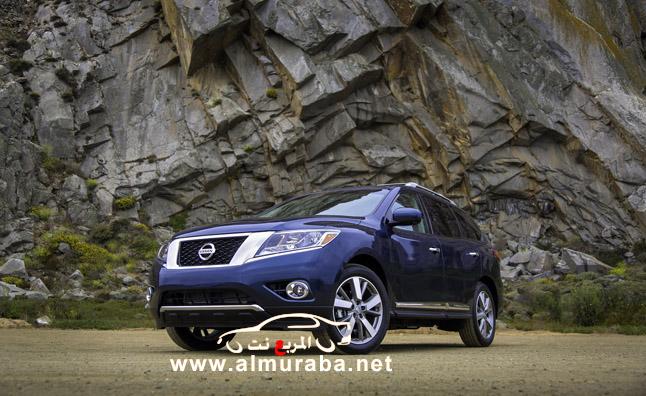 باثفندر 2013 نيسان الجديد اكثر قوة وصلابة صور واسعار ومواصفات Nissan Pathfinder 2013