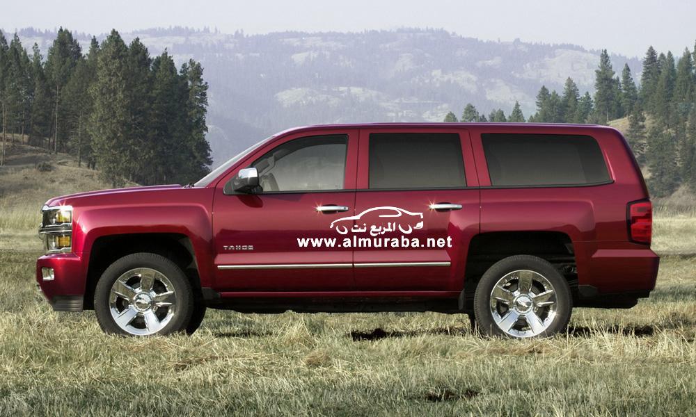 شفرولية تاهو 2014 في أول صور بالشكل الجديد كلياً Chevrolet Tahoe 2014