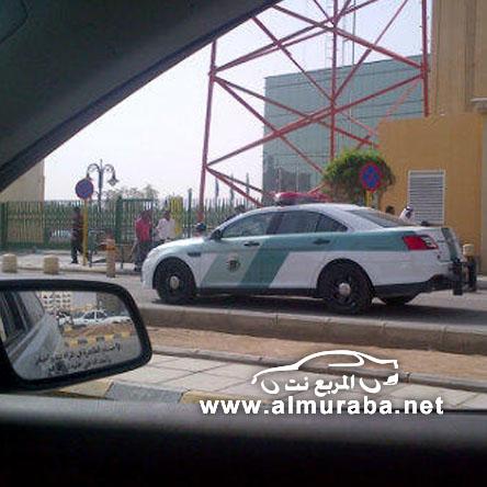 """المرور السعودي يستخدم سياراته الجديدة من شركة """"فورد"""" ويبدأ العمل رسمياً عليها بالصور"""