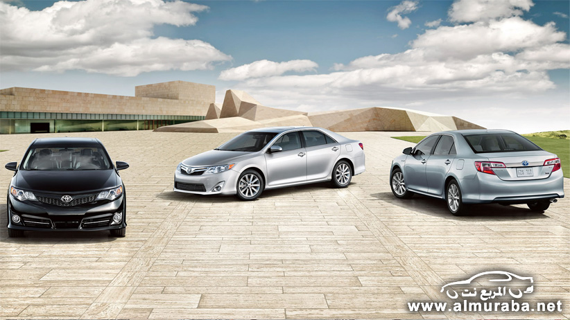 كامري 2014 تويوتا بالتطويرات الجديدة صور واسعار ومواصفات Toyota camry 2014