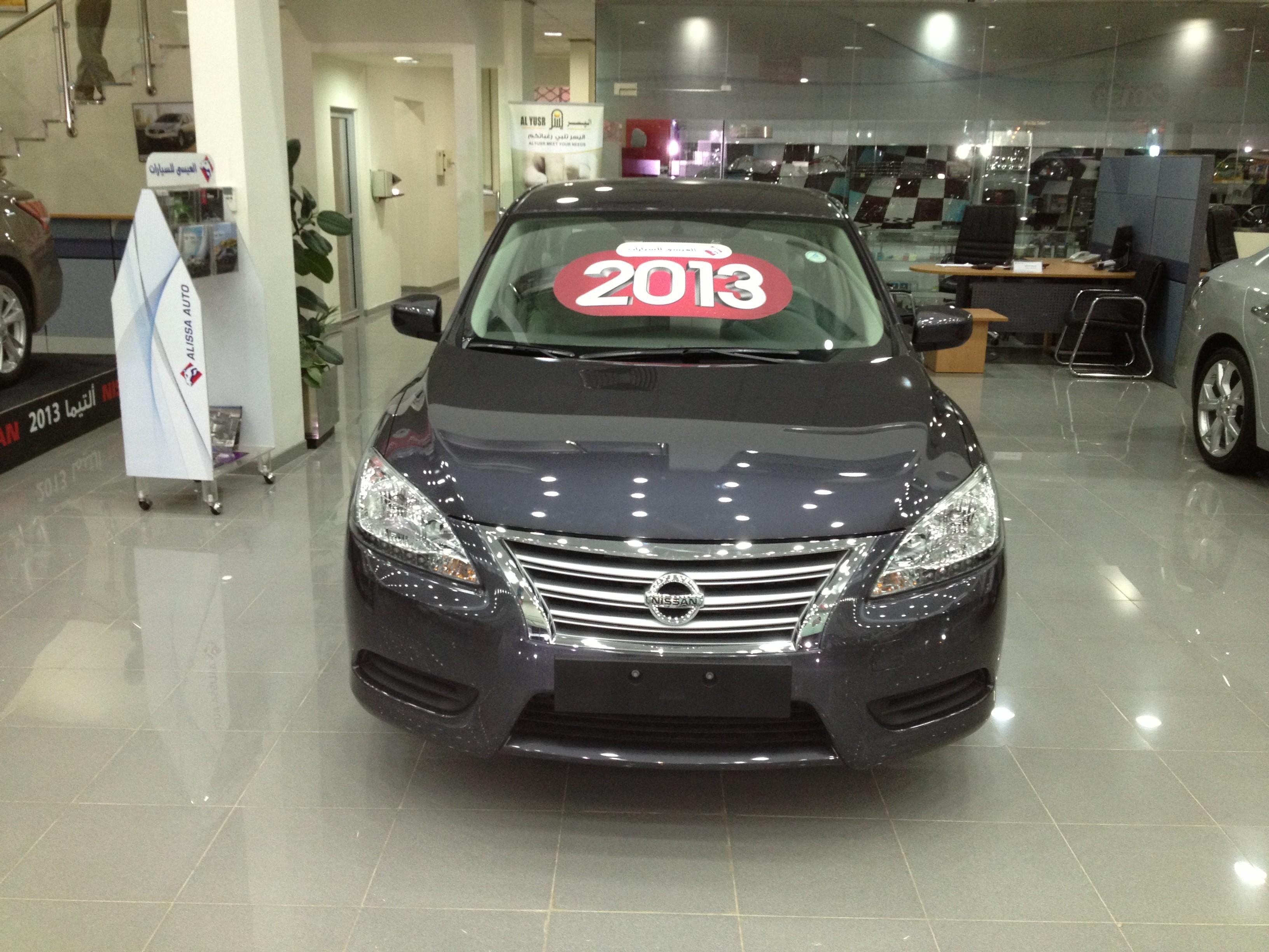 الكشف عن نيسان سنترا 2013 الجديدة كلياً في السعودية بالاسعار والمواصفات والصور Nissan Sentra