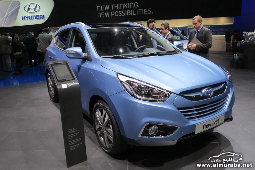 هيونداي توسان 2014 تنطلق بالتطويرات الجديدة من معرض جنيف للسيارات Hyundai Tucson 2014
