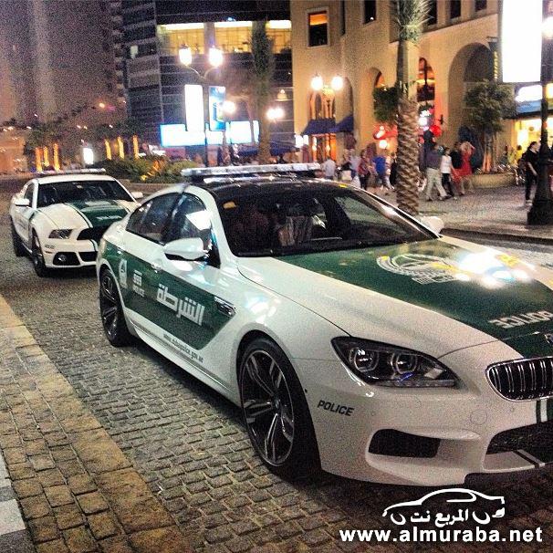"""""""بالصور"""" شرطة دبي تضم بي ام دابليو ام سكس وفورد موستنج لأسطولها Dubai Police"""