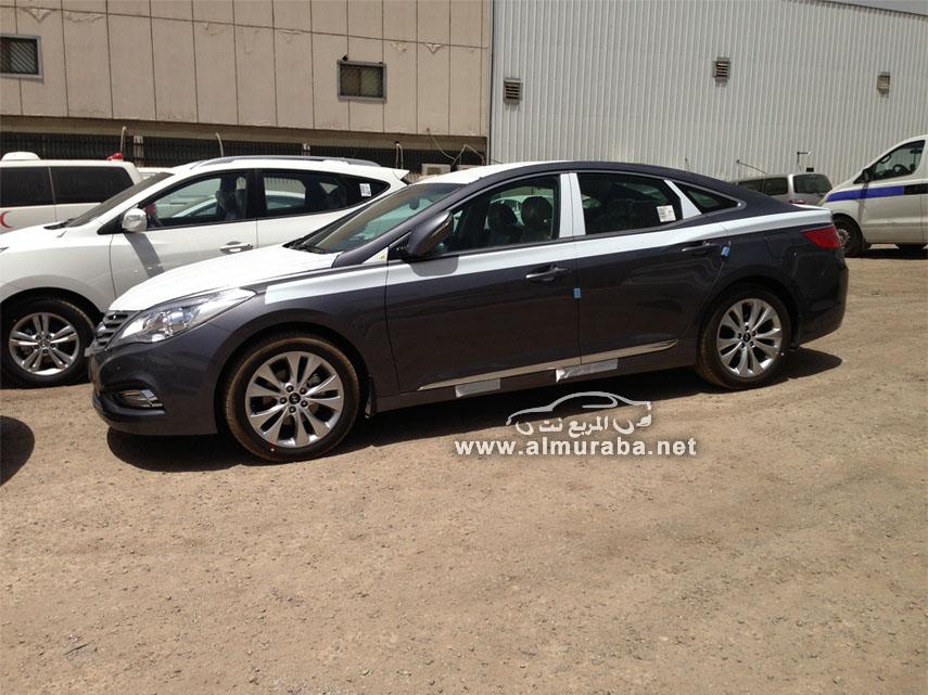 وصول هيونداي ازيرا 2014 بالتطويرات الجديدة صور وفيديو Hyundai Azera   المربع نت