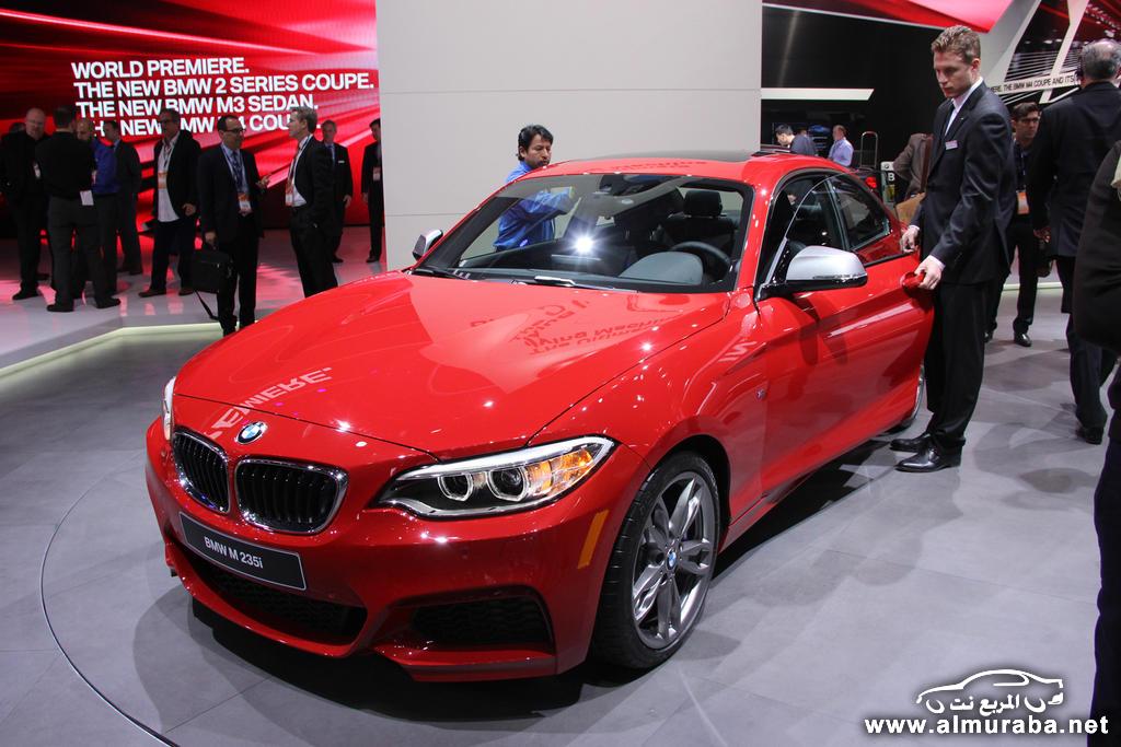 بي ام دبليو الفئة الثانية 2014 كوبيه تظهر في ديترويت بالصور والمواصفات BMW 2-Series | المربع نت