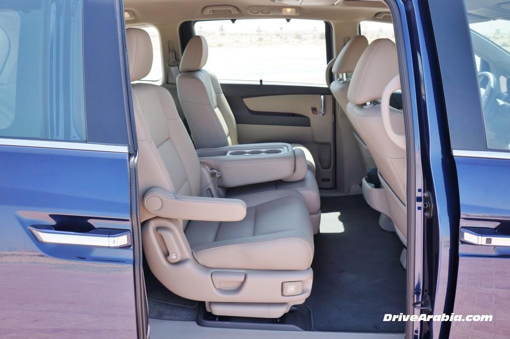 """هوندا اوديسي 2014 """"الفان العائلي"""" صور واسعار ومواصفات Honda Odyssey   المربع نت"""