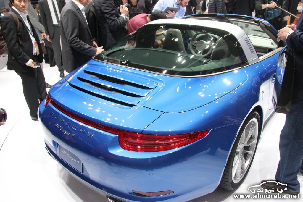 2014-Porsche-911-Targa-Rear