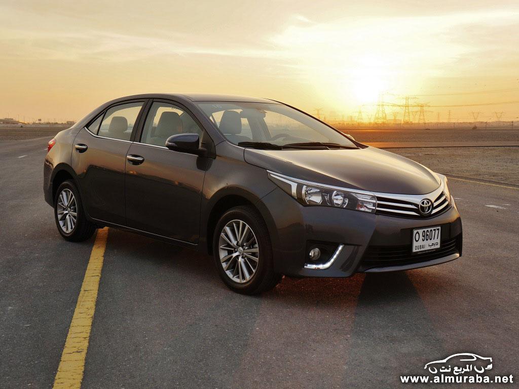 """Toyota 2016 Models >> """"تقرير"""" تجربة تويوتا كورولا 2014 صور ومواصفات واسعار Toyota Corolla – المربع نت"""
