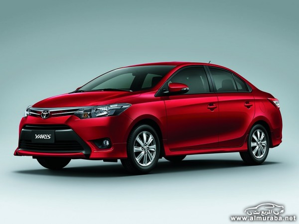 2014 Toyota Yaris Sedan 1 600x450 اسعار ومواصفات السياره تويوتا يارس سيدان 2014 Toyota Yaris Sedan فى مصر والسعودية والإمارات والكويت