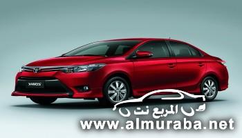 """"""" بالصور"""" سيارة تويوتا يارس سيدان Toyota Yaris Sedan 2014 الان فى الامارات"""
