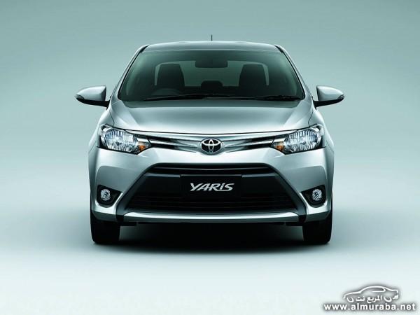 2014 Toyota Yaris Sedan 2 600x450 اسعار ومواصفات السياره تويوتا يارس سيدان 2014 Toyota Yaris Sedan فى مصر والسعودية والإمارات والكويت