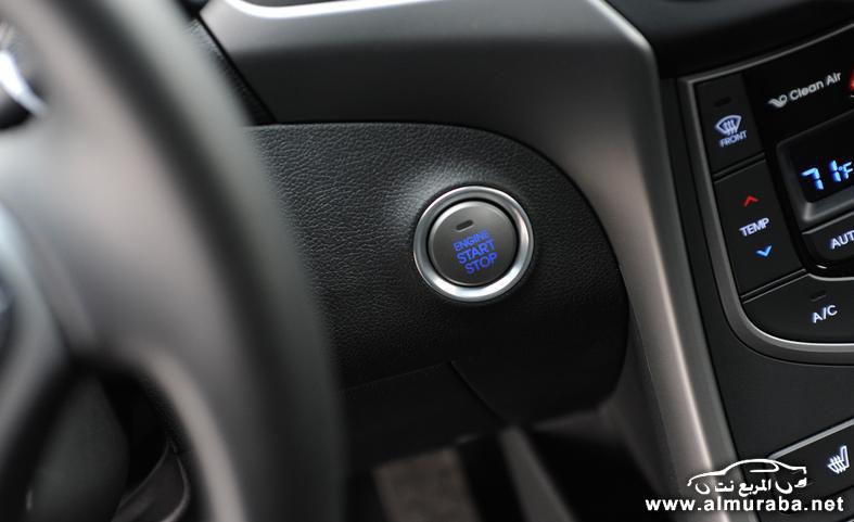 2014 hyundai elantra limited engine start stop button photo 554078 s 787x481 مواصفات هيونداي النترا 2014 كوبيه و سيدان و GT    Hyundai Elantra