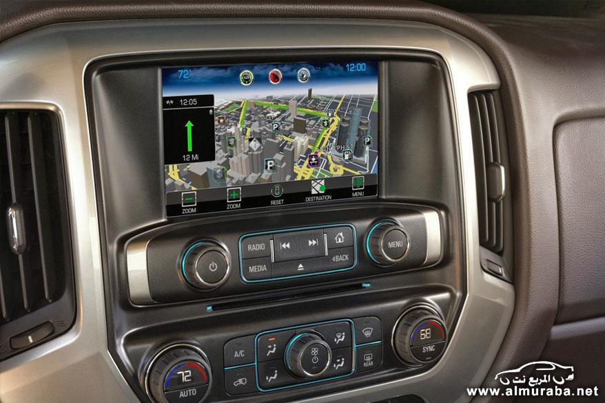 شيفروليه سيلفرادو HD 2015 الضخم صور ومواصفات Chevrolet Silverado   المربع نت