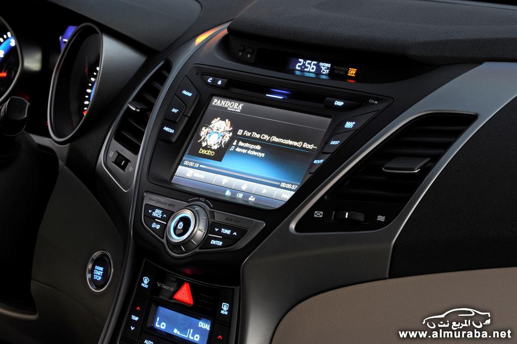 هيونداي النترا 2015 تحصل على تحديثات ومواصفات الوان جديدة Hyundai Elantra | المربع نت