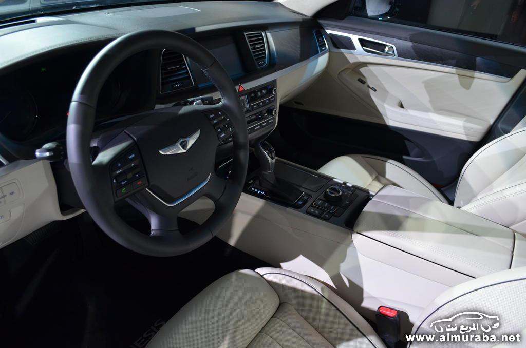 اسعار هيونداي جينيسيس 2015 الجديدة بجميع الفئات بعد عرضها رسمياً Hyundai Genesis | المربع نت