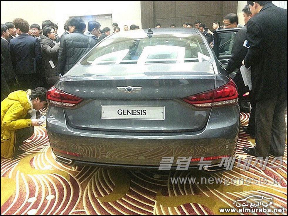 2015 Hyundai Genesis Sedan 102 مواصفات و صور هيونداي جينيسيس 2015 Hyundai Genesis