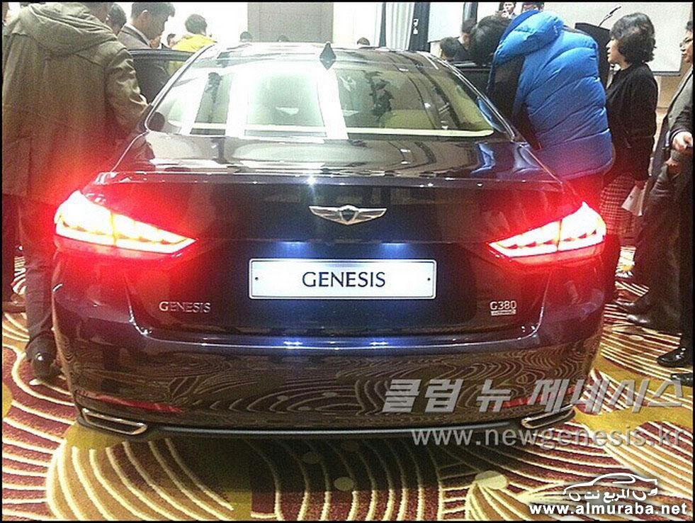 2015 Hyundai Genesis Sedan 112 مواصفات و صور هيونداي جينيسيس 2015 Hyundai Genesis