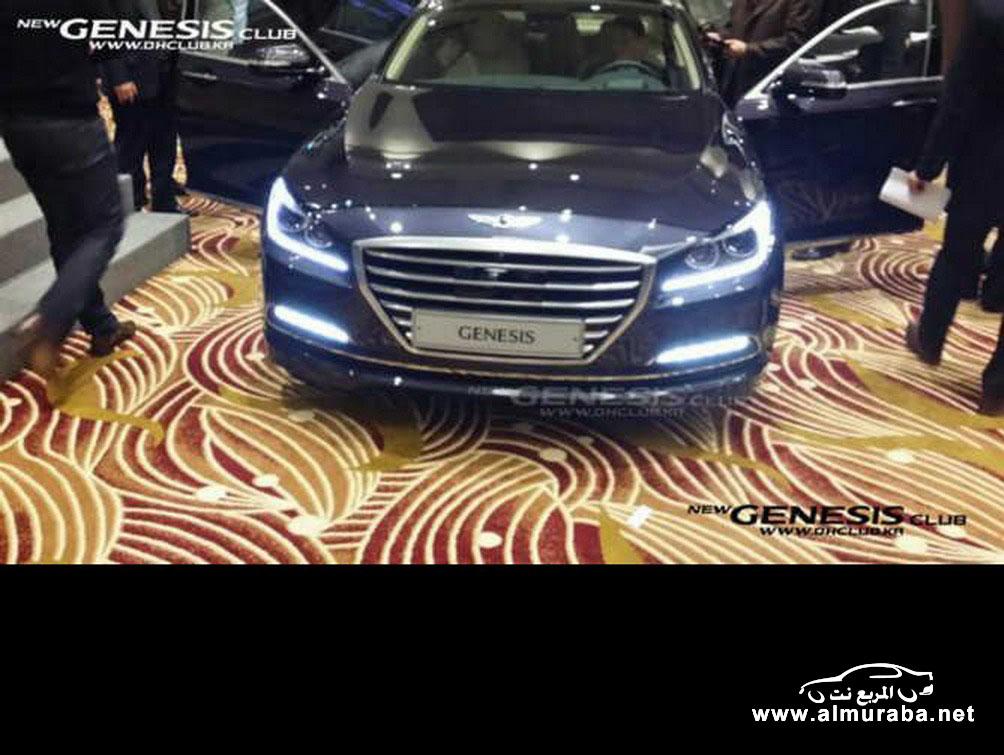 2015 Hyundai Genesis Sedan 12 مواصفات و صور هيونداي جينيسيس 2015 Hyundai Genesis