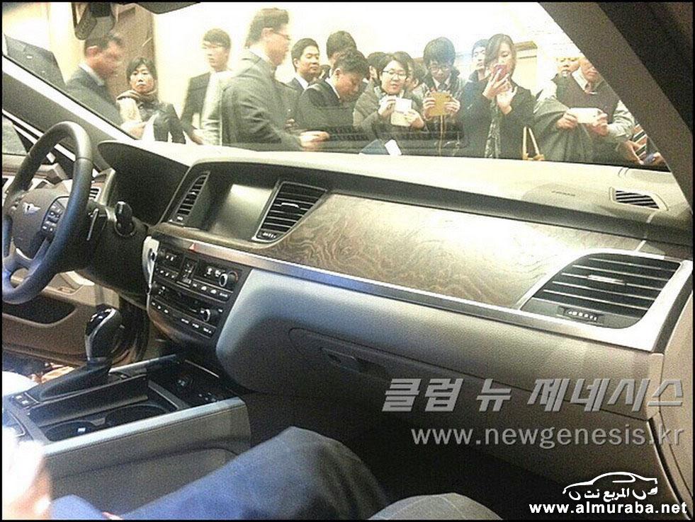 2015 Hyundai Genesis Sedan 122 مواصفات و صور هيونداي جينيسيس 2015 Hyundai Genesis