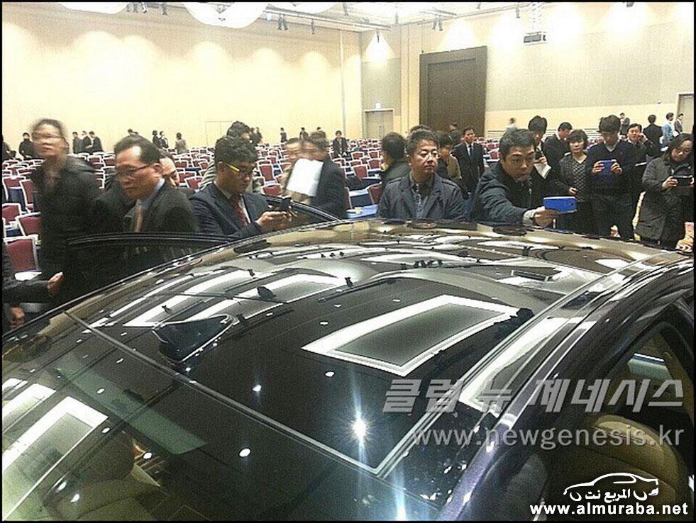 2015 Hyundai Genesis Sedan 132 مواصفات و صور هيونداي جينيسيس 2015 Hyundai Genesis