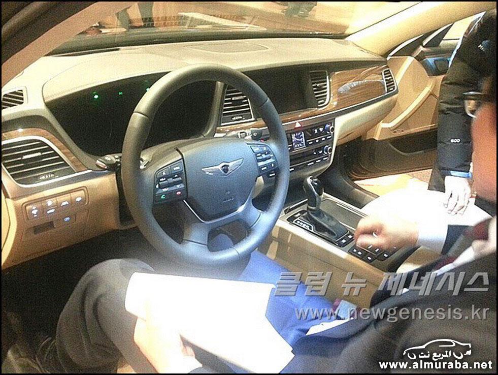 2015 Hyundai Genesis Sedan 162 مواصفات و صور هيونداي جينيسيس 2015 Hyundai Genesis