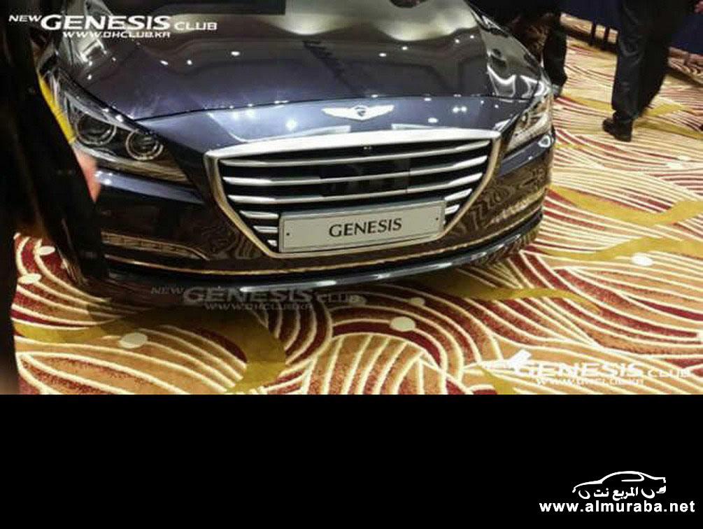 2015 Hyundai Genesis Sedan 22 مواصفات و صور هيونداي جينيسيس 2015 Hyundai Genesis