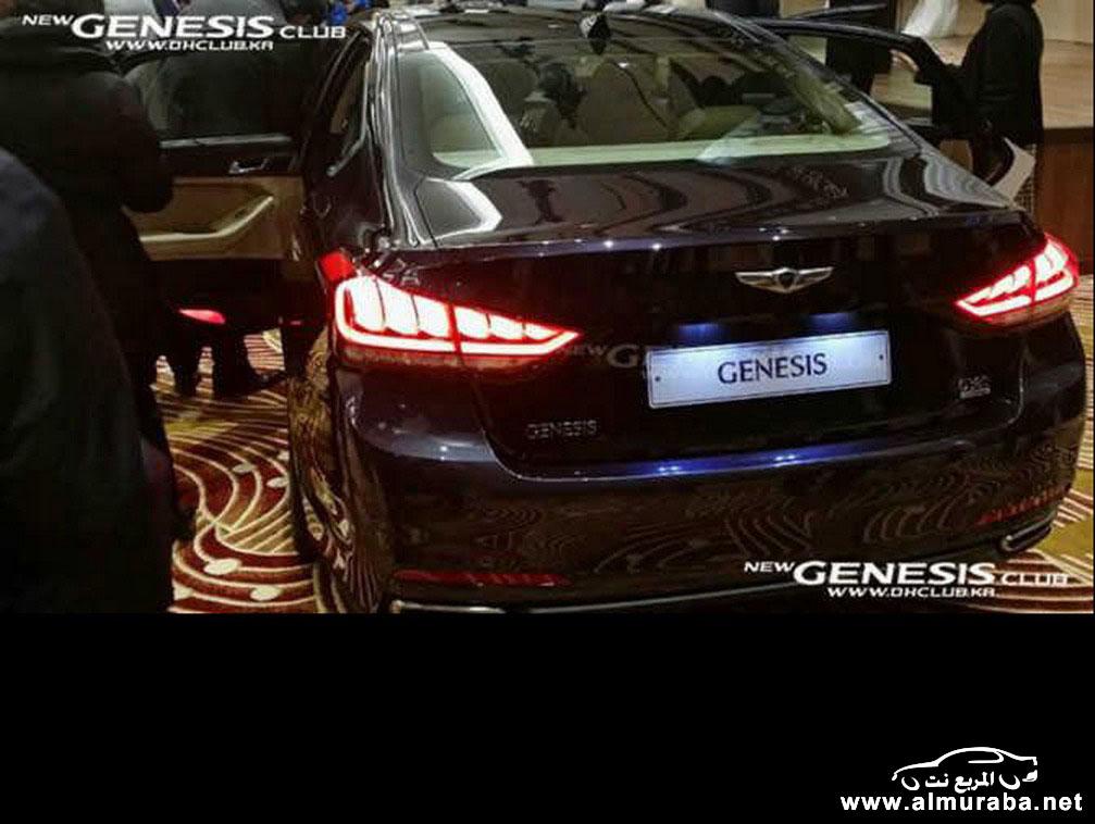 2015 Hyundai Genesis Sedan 32 مواصفات و صور هيونداي جينيسيس 2015 Hyundai Genesis