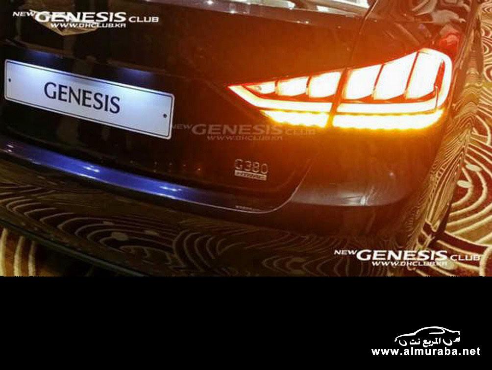 2015 Hyundai Genesis Sedan 42 مواصفات و صور هيونداي جينيسيس 2015 Hyundai Genesis