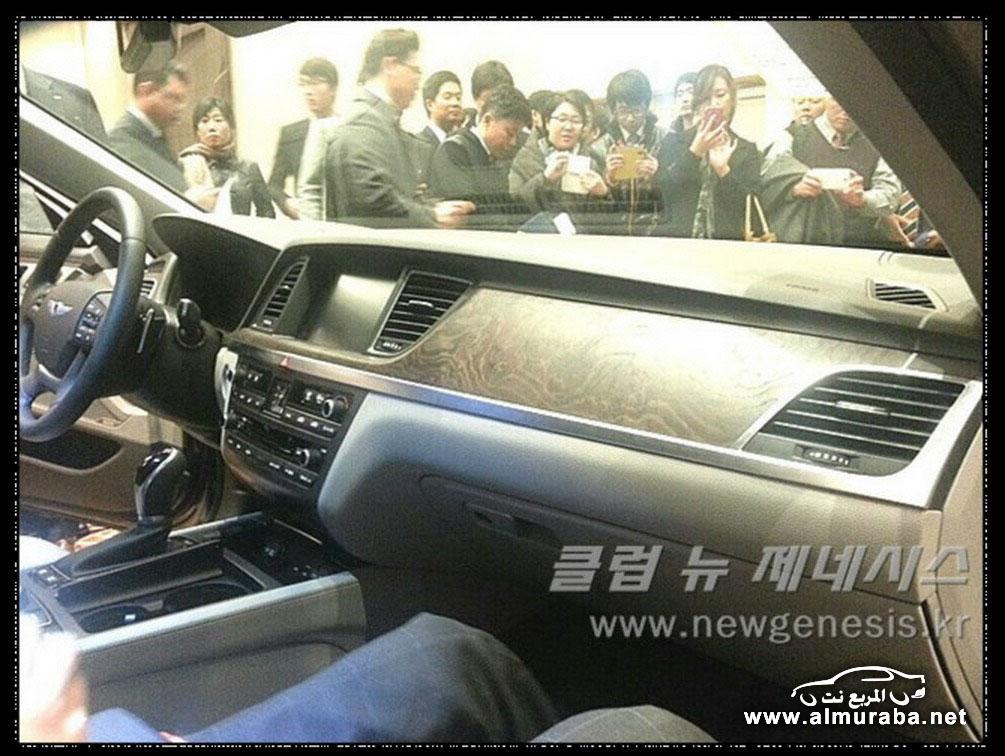 2015 Hyundai Genesis Sedan 52 مواصفات و صور هيونداي جينيسيس 2015 Hyundai Genesis