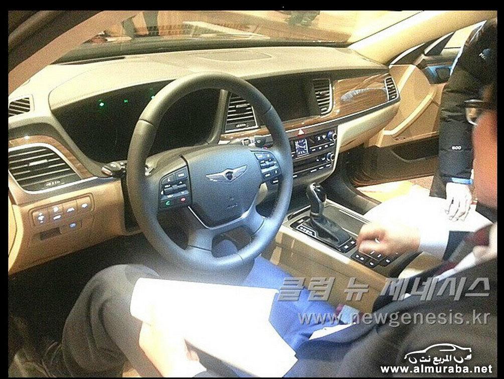 2015 Hyundai Genesis Sedan 62 مواصفات و صور هيونداي جينيسيس 2015 Hyundai Genesis