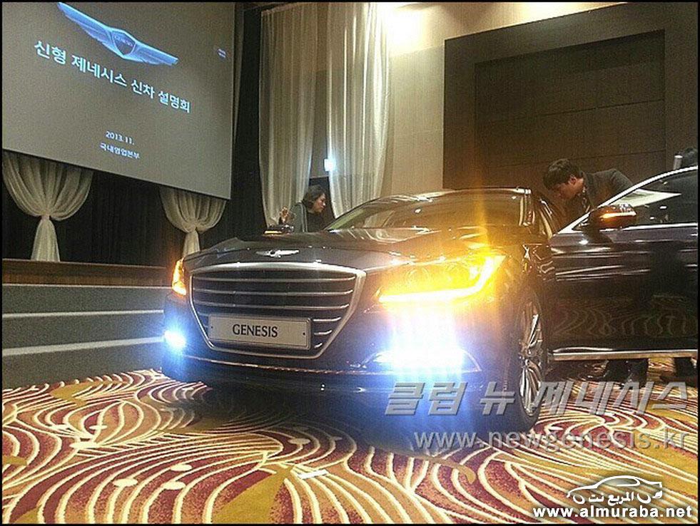 2015 Hyundai Genesis Sedan 82 مواصفات و صور هيونداي جينيسيس 2015 Hyundai Genesis