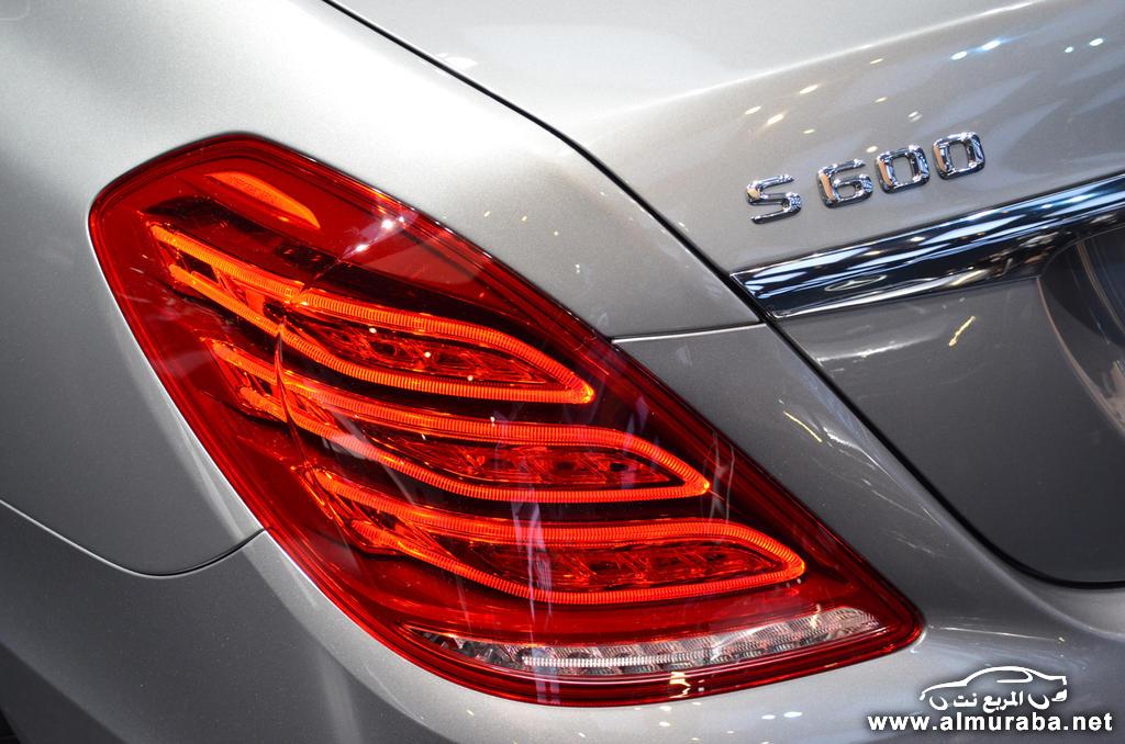 مرسيدس اس 600 2015 الجديدة تظهر رسمياً في معرض ديترويت بالموصفات Mercedes S600 | المربع نت