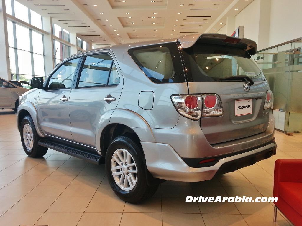 ... نسخة TRD الرياضية تصل الى دبي Toyota Fortuner