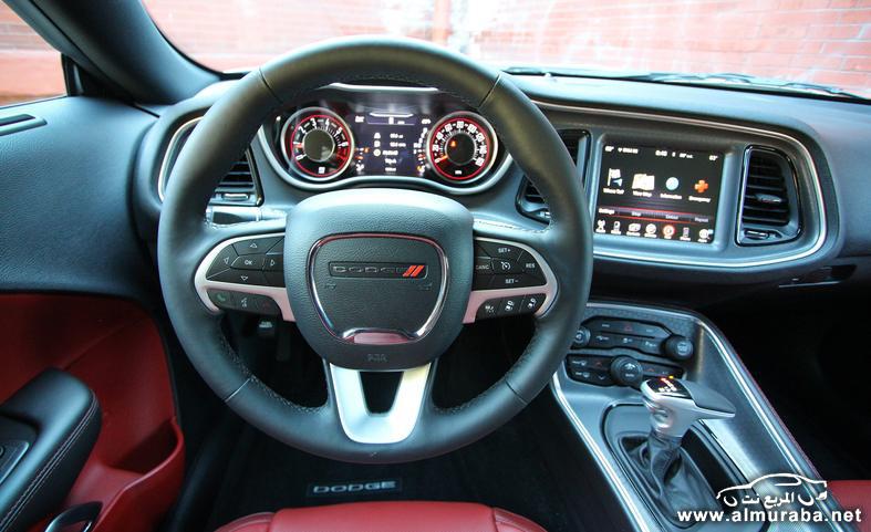 "Dodge Challenger Interior >> دودج تشالنجر 2015 الجديدة V-6 ""صور ومواصفات"" Dodge challenger | المربع نت"