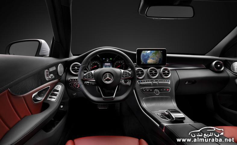 2015 mercedes benz c class interior photo 554174 s 787x481 مواصفات مرسيدس بينز الفئة سي 2015 مع صور من الداخل و الخارج Mercedes Benz C Class
