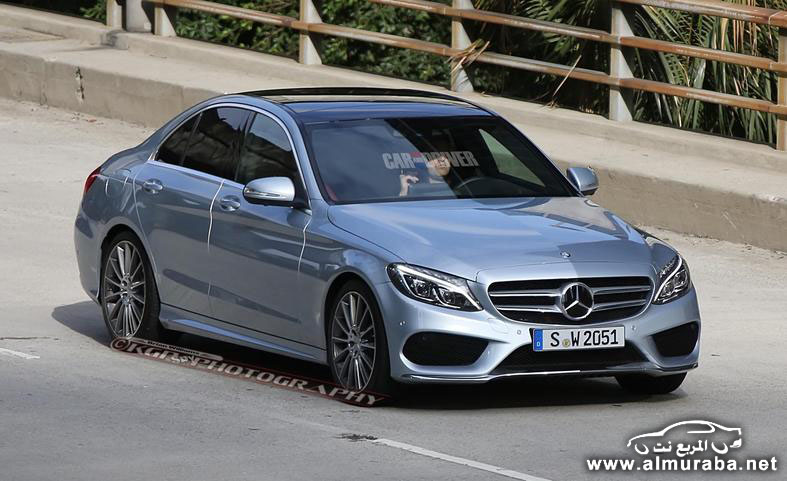 2015 mercedes benz c class sedan spy photo photo 554167 s 787x481 مواصفات مرسيدس بينز الفئة سي 2015 مع صور من الداخل و الخارج Mercedes Benz C Class