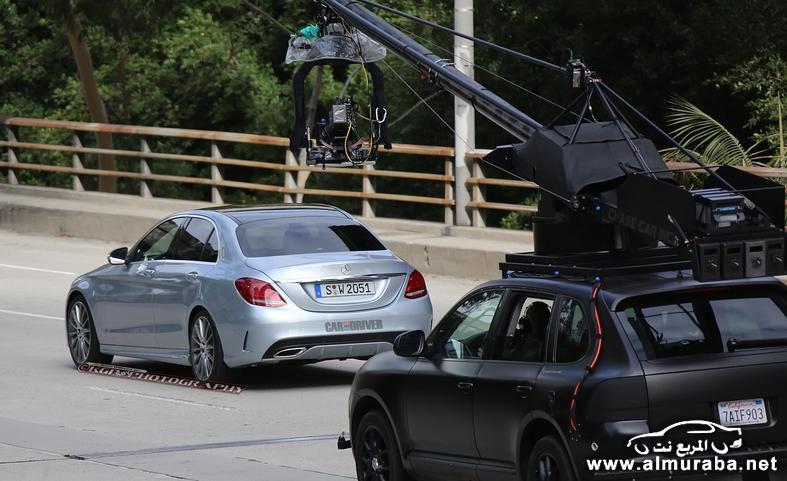 2015 mercedes benz c class sedan spy photo photo 554168 s 787x481 مواصفات مرسيدس بينز الفئة سي 2015 مع صور من الداخل و الخارج Mercedes Benz C Class