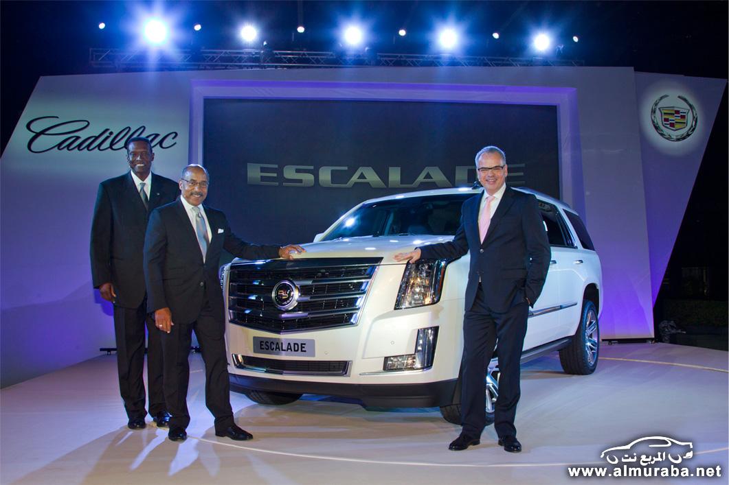 اسكاليد 2015 كاديلاك الجديدة كلياً تكشف نفسها في الخليج بالصور والمواصفات Cadillac Escalade | المربع نت
