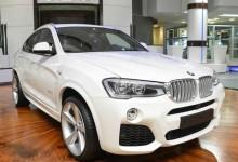 """""""بالصور"""" بي ام دبليو BMW X4 المعدلة ترتدي حزمة M الرياضية في أبوظبي"""